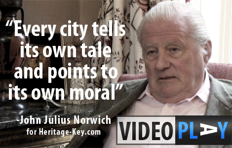 John Julius Norwich talks to Heritage Key about the Great Cities of the World. Click to skip to the video.