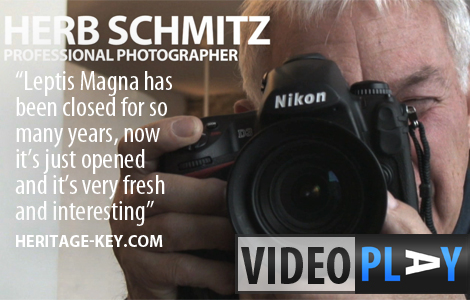 Herb Schmitz is a well travelled professional photographer with an impressive array of cameras, including his trusty Nikon D-3. Click the image to skip down to the video.
