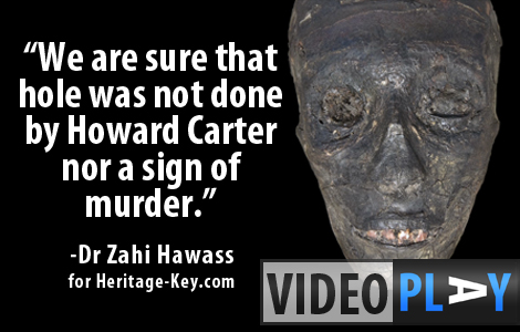 How did King Tutankhamun die at such a young age? Dr Zahi Hawass explains how modern science is helping to answer this question. Click the image to skip to the video.
