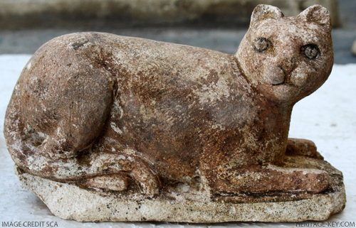 Ptolomeic Cat Statue discovered at Queen Berenike Temple
