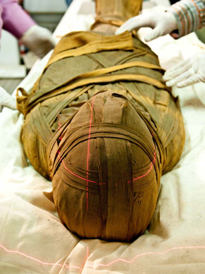 The mummy 'Esankh'