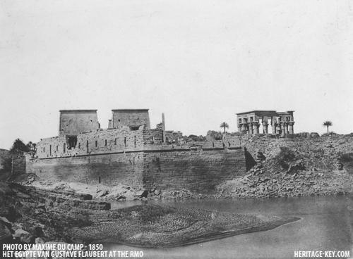 1849 Flaubert Isis Temple Philae