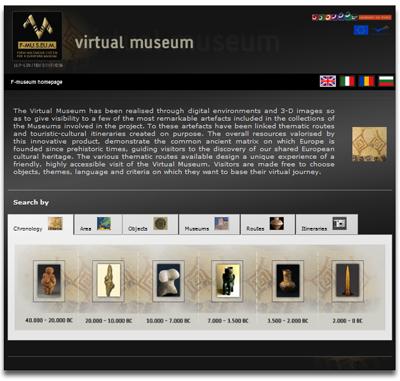 European Virtual Museum