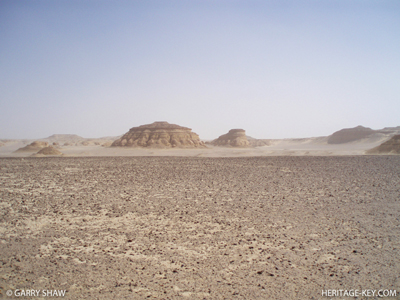 The Desert at Shaw Wadi El Hitan (The Valley of the Whales)