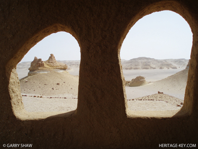 The Visitor Centre at Wadi El-Hitan, Valley of the Whales