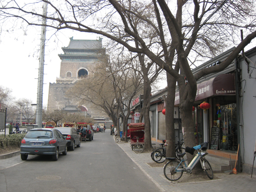 The area is also the home to many shops and traditional residences known as hutongs. Photo provided by Michael Kan.