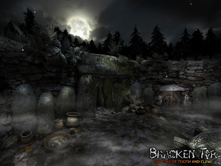 Screenshot from 'Bracken Tor' - Bronze Age Structure