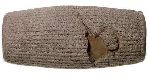 The Cyrus Cylinder will go on loan to Tehran, Iran