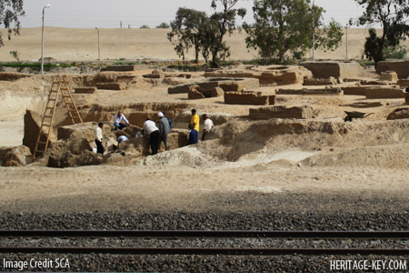 excavations at tell-el-maskhuta lower egypt still continue after the discovery of a 19th dynasty tomb