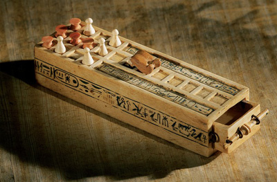 King Tut's Senet Game Board is one of the artefacts on tour.