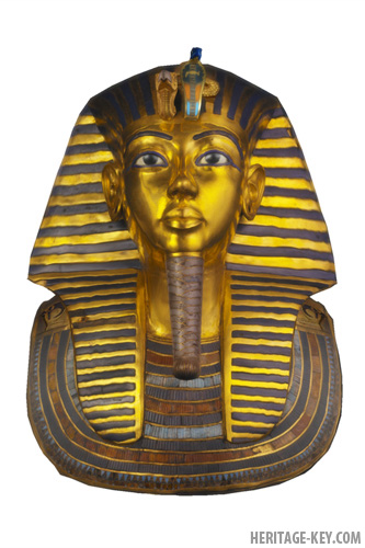 king Tut's Death Mask - Did he suffer from the genetic blood disorder Sickle Cell Disease?