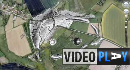Archaeologists have uncovered a 4,500 year old dwelling at the site of Marden Henge. Click to skip to the video.