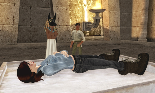 Find out how the Ancient Egyptians created mummies in Heritage Key Virtual!